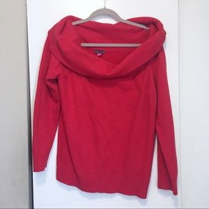 🍂 New! Vince Camuto Red Off the shoulder sweater